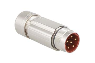 Standard connector, series B, M23 power coupling