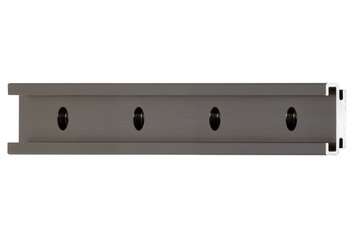 drylin® N  guide rail, installation size 27, anti-reflex