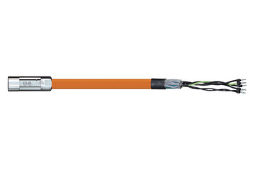 readycable® motor cable acc. to Parker standard iMOK43, base cable PVC 10 x d