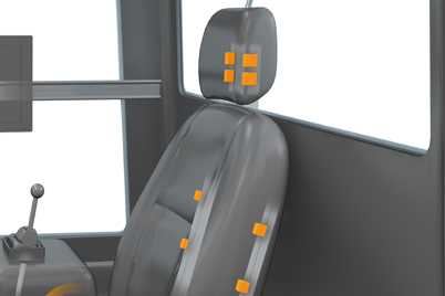 drylin® linear guides for ergonomically adjustable driver's seat