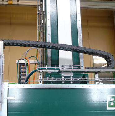 e-chain® in palletising machine