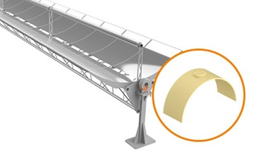 Custom-made special solution in solar plant