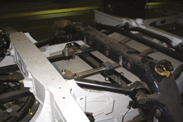 drylin® R linear shafts in commercial vehicle technology