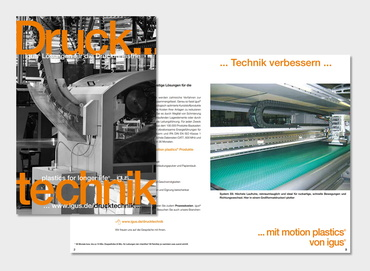 Printing technology brochure