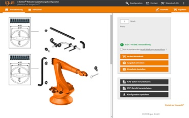 e-chains® robotic equipment configurator